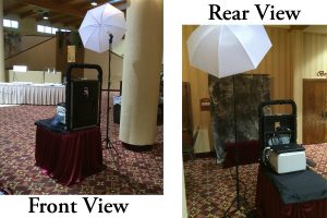 This is our open air photo booth.